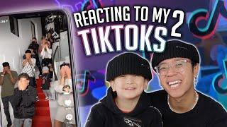 Reacting to my most VIRAL Tiktoks 2!! **ft. Jonathan**