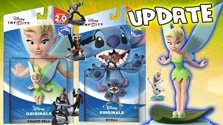 Disney Infinity 2.0 Update: Tinkerbell, Stitch, Guardians of the Galaxy: Groot, Drax + More GAMEPLAY