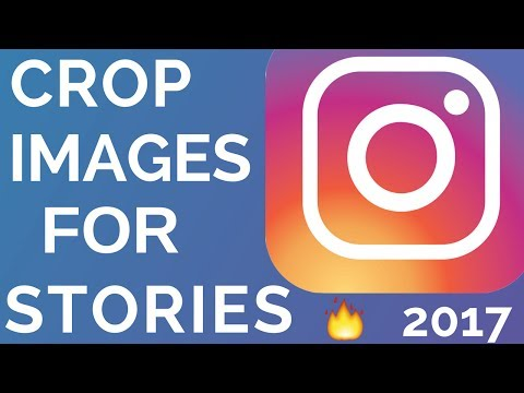 How To Size / Crop Images For Instagram Stories