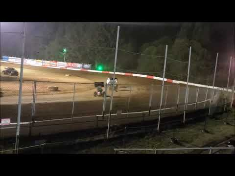 Iscs winged sprints coos bay speedway main 8-12-19