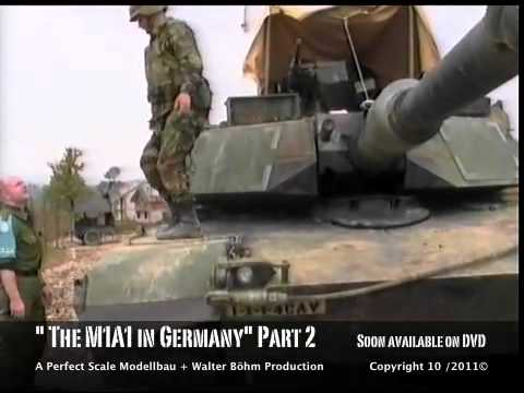 M1A1 ABRAMS in Germany Part 2