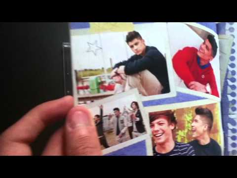 Unboxing Up All Night (The Souvenir Edition) One Direction