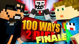 Minecraft 100 WAYS TO DIE CHALLENGE THE EPIC FINALE