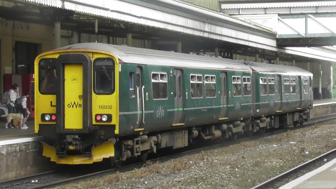 Trains At Exeter St Davids 31 5 17