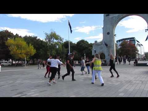 International Rueda de Casino Flash Mob 2017 - Christchurch NZ