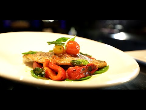 Passionfood Network : Sea Bass Fillet With Couscous Recipe By Chef Dessi