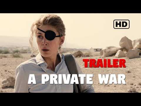 A private war Tráiler español sub HD