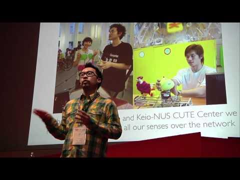 TEDxZurich-Jeff Koh-Builds animated interactive liquids