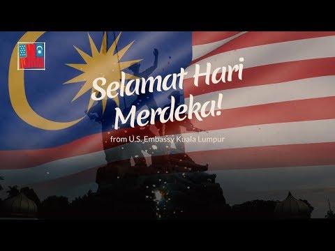 Selamat Hari Merdeka from U.S. Embassy Kuala Lumpur