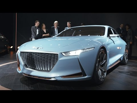 The Genesis concept is the best looking surprise of the NY Auto Show