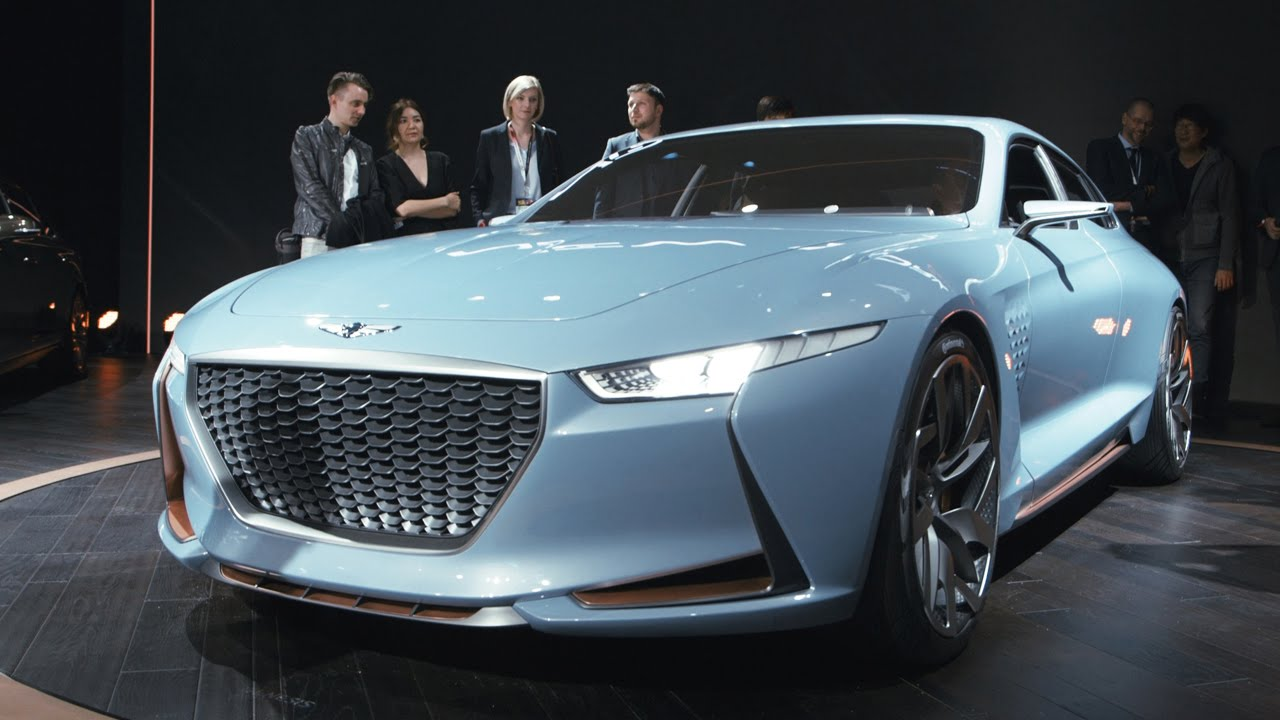 The genesis concept is the best looking surprise of the ny for Who makes hyundai motors