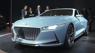 The Genesis concept is the best-looking surprise of the NY Auto Show