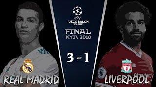 REAL MADRID vs LIVERPOOL | Final Champions League League 2018 | Narrando/comentando