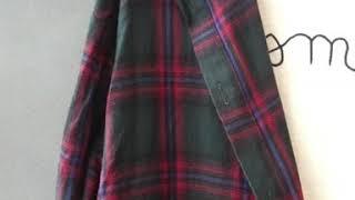 단독제작상품 가을 소장각 간절기 여성 후드체크셔츠남방원…