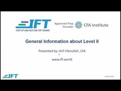 2018 Level II CFA: General Information about the exam