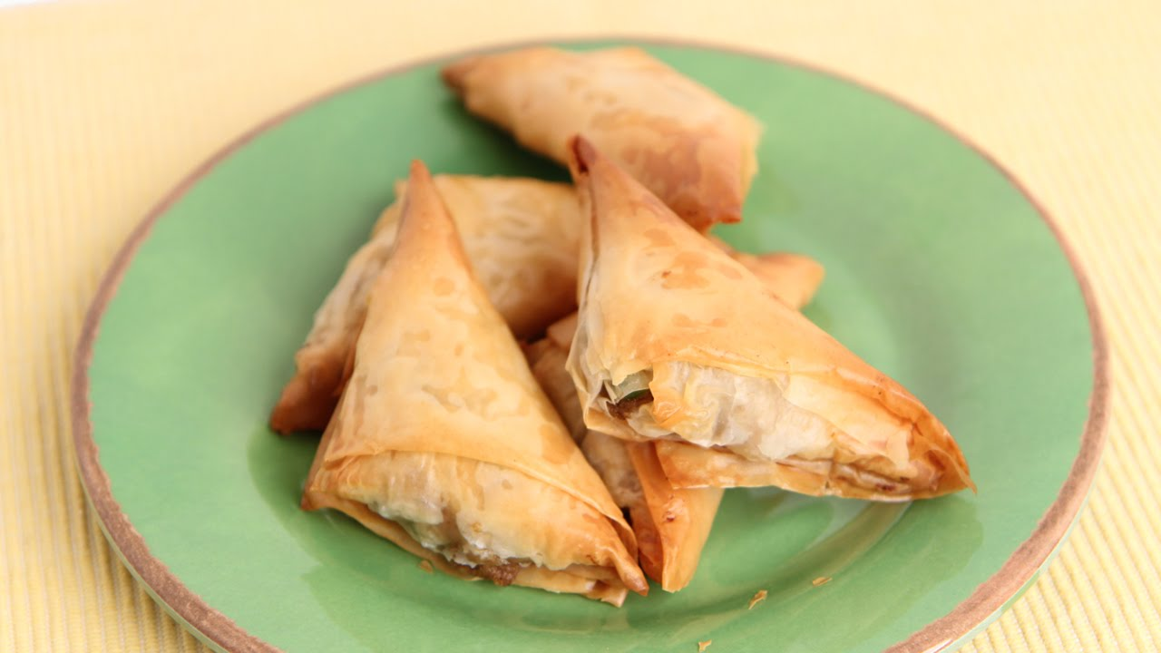 Samosa Recipe Laura In The Kitchen Internet Cooking Show