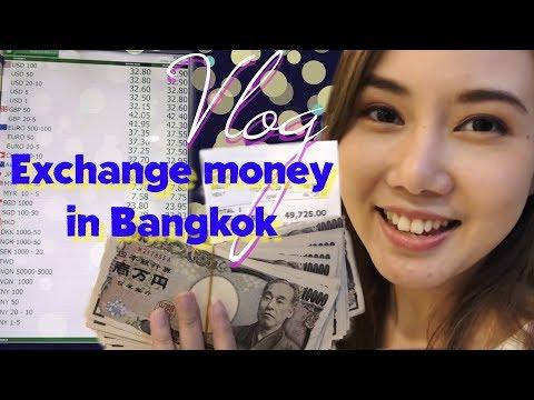 Where To Exchange Money In Bangkok   Thailand VLOG