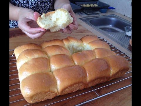 Resep roti sobek roti kasur dinner rolls lembut empuk dan enak 11