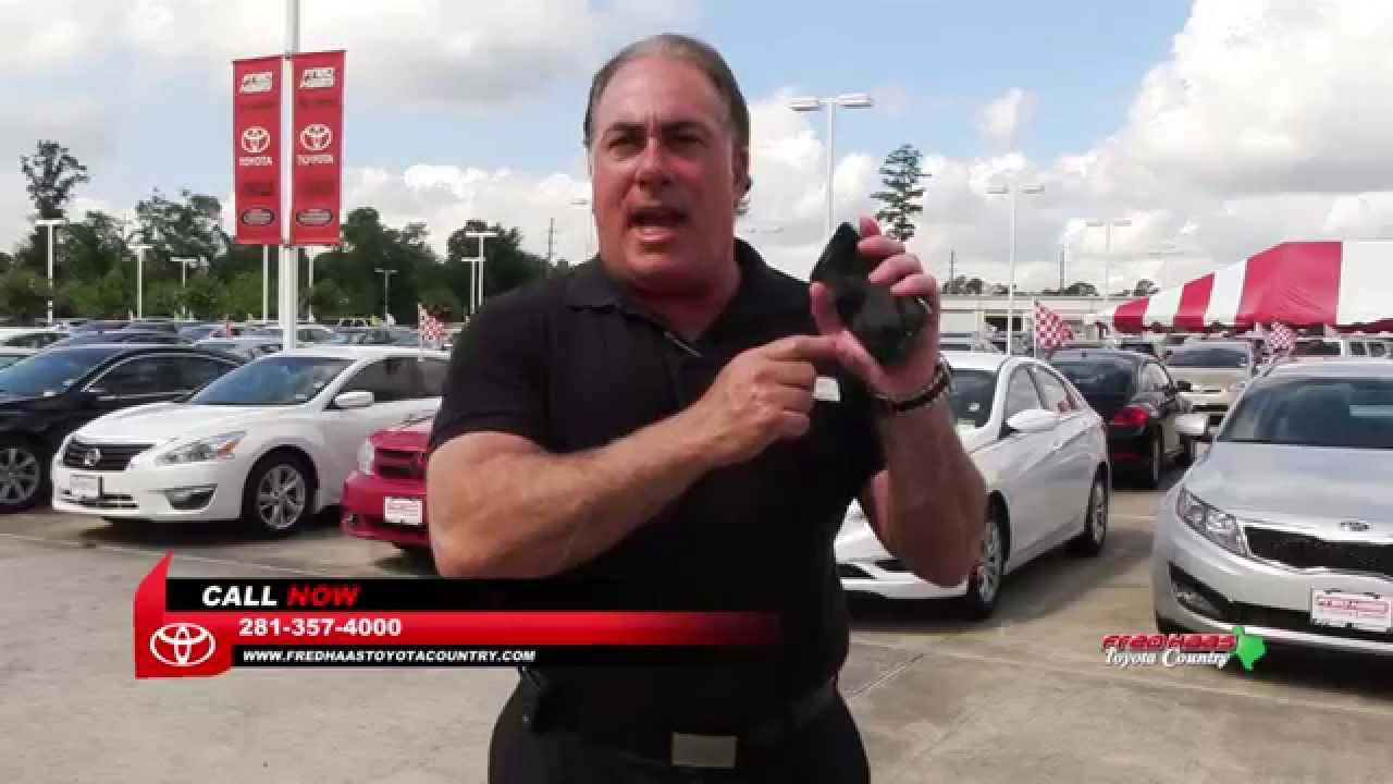 Car Financing At Fred Haas Toyota Country   YouTube