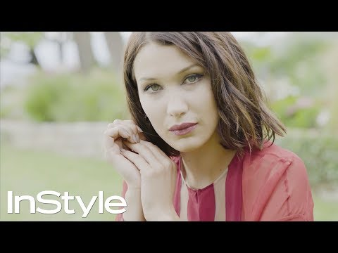 Behind the Scenes with Bella Hadid | InStyle
