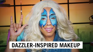 Transform into the marvelous Dazzler for Halloween with this tutorial!