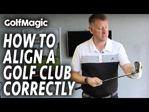 How To Align A Golf Club Correctly | Best Golf Beginner Tips #2 | GolfMagic