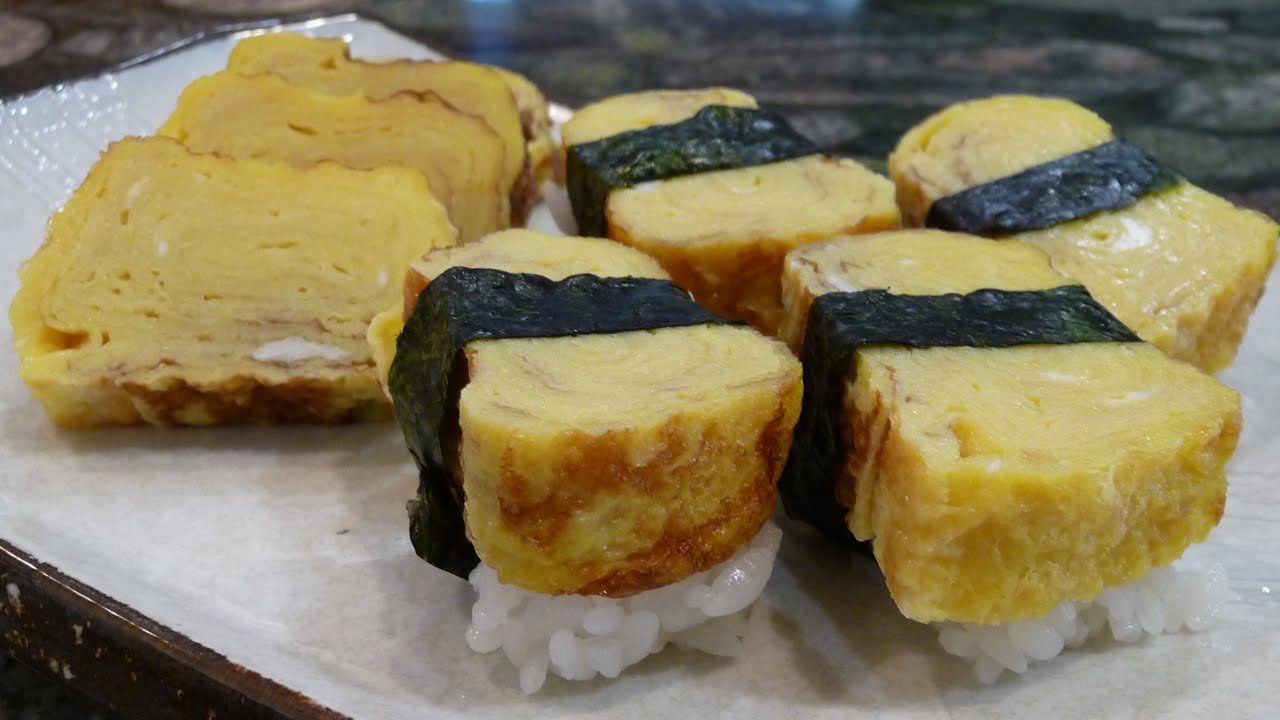how to make tamagoyaki youtube