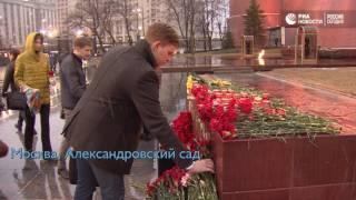 Акции памяти жертв теракта