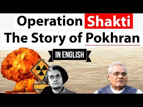 Operation Shakti - The story of Pokhran - How India became a Nuclear State - in English