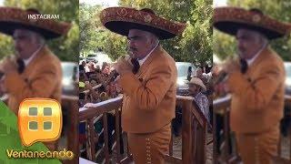 Don Vicente Fernández celebró en grande su cumpleaños número 79 con una espectacular charreada.
