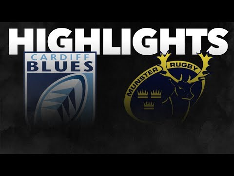 Guinness PRO14 Round 5: Cardiff Blues V Munster Rugby Highlights