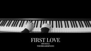 BTS Suga - First Love Piano Cover