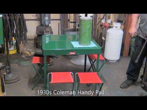 More Vintage Coleman Camping Gear