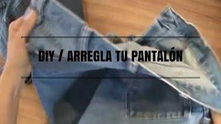 DIY / ARREGLA TU PANTALÓN CON ELÁSTICO EN LA CINTURA