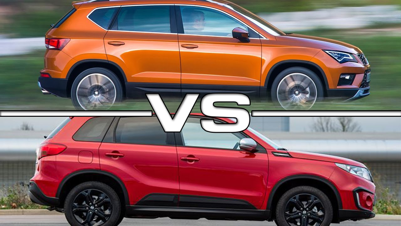 Seat Arona Vs Ateca >> Seat Ateca vs Suzuki Vitara S - YouTube