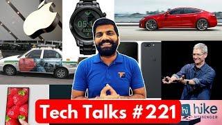 Tech Talks #221 Oneplus 5 Contest, TESLA Crash, Hike 5.0 UPI, Armani Watch, Whatsapp Update
