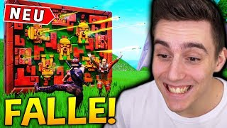 The new GIFT FALLE is GOOD or SCHLECHT? 🤢 - Fortnite Battle Royale Update!