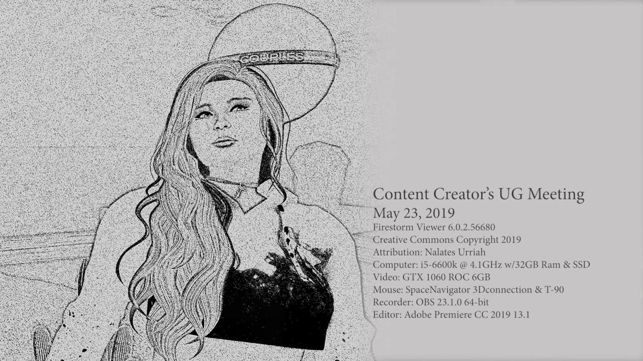 Second Life: Content Creator's UG Meeting 5/23/2019 - YouTube