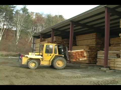 How They're Made - Coventry Log Homes Mill Tour (Part 1)