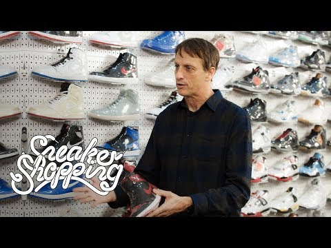 Lauren - Tony Hawk Goes Sneaker Shopping With Complex