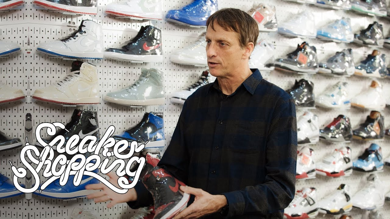 c4f171154f9571 Tony Hawk Goes Sneaker Shopping With Complex - YouTube