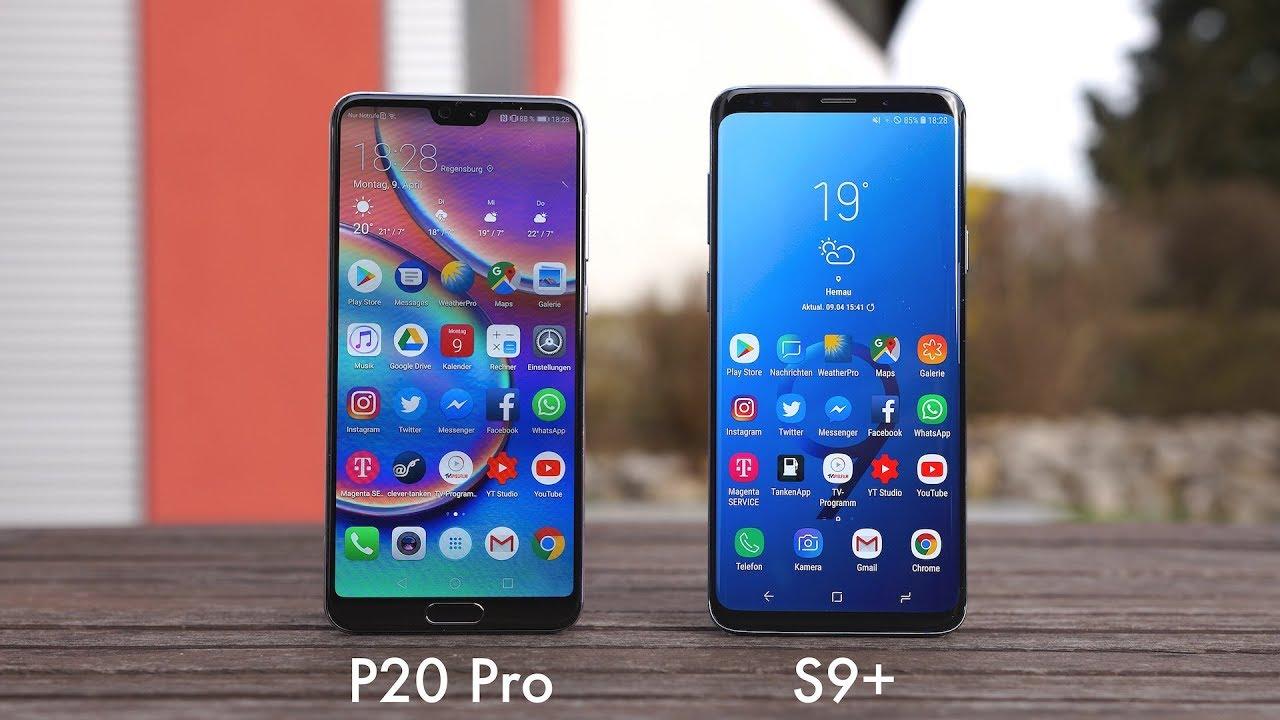 Huawei P20 Pro Oder Samsung S9