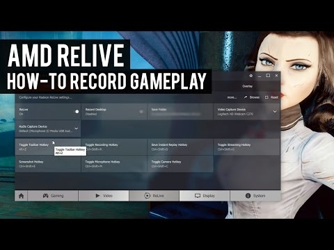 AMD ReLive | How-to Record Gameplay with an AMD GPU
