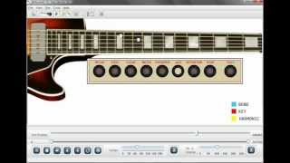 Stevie Ray Vaughan Dirty Pool Guitar Lesson Software
