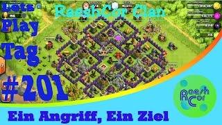 Clash of Clans CoC [HD+] Destroy everything with Babarean King ಠ RaeshCor Clan [Deutsch/German]
