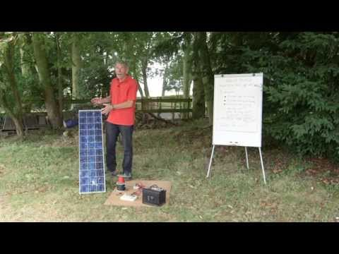 Practical Caravan on solar panels