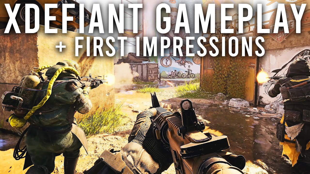 Tom Clancy's XDefiant Gameplay and First Impressions