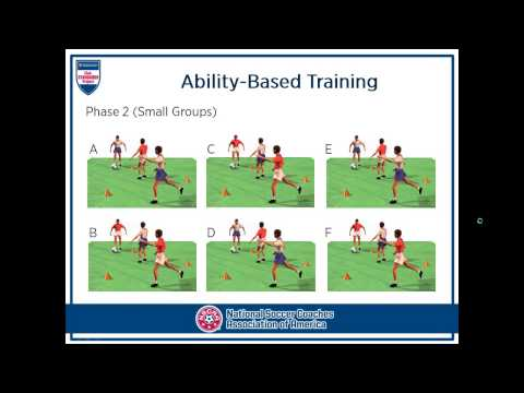 NSCAA: Ability-Based Training presented by Robert Parr