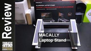 Macally Aluminum Laptop Stand for Apple Macbook, Macbook Air, Macbook Pro