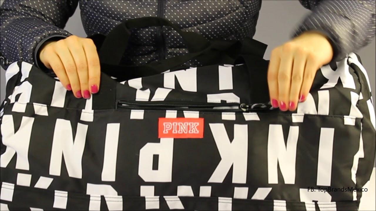 mirada detallada otra oportunidad zapatos deportivos Maleta Pink/Victoria's Secret logos - YouTube